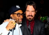 Spike Lee and Josh Brolin
